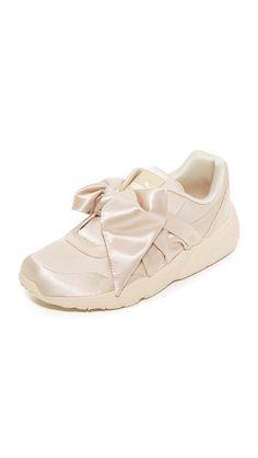 Bow Sneakers, Pink Tint/Pink Tint/Pink Tint