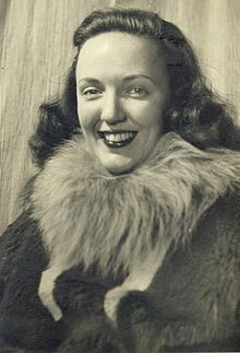 """Edith """"Jackie"""" Ronne (born October 13, 1919 - June 14, 2009) was an American explorer of Antarctica and the first woman in the world to be a working member of an Antarctic expedition.[1] She is also the namesake of the Ronne Ice Shelf.[2]"""