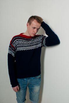 Sweater Patterns, Knitting Patterns, Crochet Patterns, Learn To Crochet, Knit Crochet, Norwegian Style, Norwegian Knitting, Nordic Sweater, Men's Sweaters