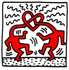 Artists that we like: Keith Haring (written by @silviabeneforti) Keith Haring Prints, Keith Haring Poster, Keith Haring Art, Pop Art, Graffiti Drawing, Graffiti Art, Family Poster, Artist Bio, Art Deco Bedroom