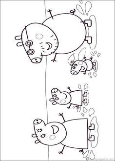 peppa pig coloring pages printable | admin june 4 2013 peppa pig 499 views peppa pig coloring pages 15 by ...
