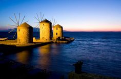 Chios island. Friends good night from Greece