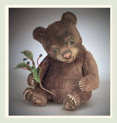 """R. John Wright Baby Bear """"Tickles"""" - brand new in box, LAST ONE #RJohnWright #AllOccasion"""