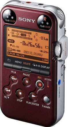 Special Offers Available Click Image Above: Sony Pcm-m10 Portable Digital Recorder Glossy Red