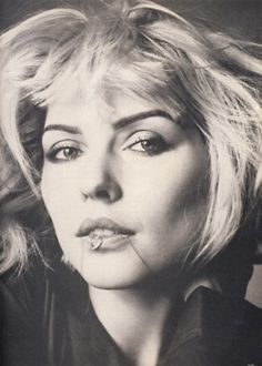 Debbie Harry by Richard Avedon