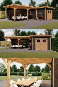 Gazebo, Pergola, Workshop Shed, Backyard Pool Landscaping, Shed Design, Pool Houses, Outdoor Living, Home And Garden, Outdoor Structures