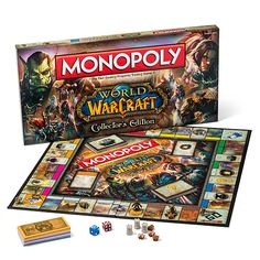 ThinkGeek :: World of Warcraft Monopoly  Why didn't I think of that?! I already rock at Monopoly. >:D