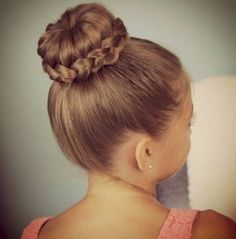 18 Cute Hairstyles for School Girls – New Styles And Tips Short Hair Updo, Cute Ponytail Hairstyles, Kids Braided Hairstyles, Cute Girls Hairstyles, Flower Girl Hairstyles, Hairstyles For School, Wedding Hairstyles, Bun Updo, Long Hair