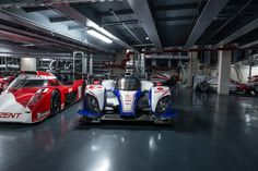 Toyota at Le Mans. The legendary contenders