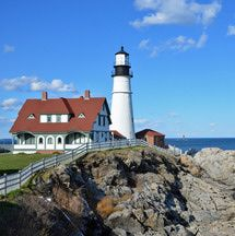 Within 20 minutes of Portland, Maine, this lighthouse driving tour guide includes detailed driving instructions and takes around 2 hours.