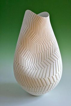 Ceramics by Ashraf Hanna at Studiopottery.co.uk - 2010. Winning entry for Welsh Artist of the Year 2010. Height 60cm.