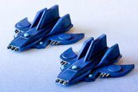 Drammattex's Painted Fleets: the Blue Ships--Terran Federation & Hydran Progress (Eclipse, Ship Pack One) | Eclipse | BoardGameGeek