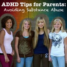 ADHD Tips for Parents: Avoiding Substance Abuse | See all our pins at @OaktreeCounsel
