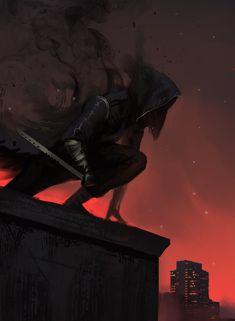 Spectral Assassin by JoshCorpuz85.deviantart.com on @deviantART