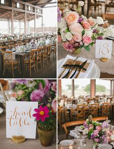 Table numbers. Bohemian black tie wedding. muted pinks, lavenders, and ambers, dialed up with pops of richer berry tones. Perfect mix of boho + posh and ultra lush blooms. Photographer: The Nichols. Venue: family ranch in Dripping Springs, Texas