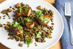 Another super healthy, super quick DropChef recipe! Honey and mustard marinated pork tenderloins served with carrot, celery and herb lentils. Marinated Pork Tenderloins, Kung Pao Chicken, Lentils, Celery, Mustard, Carrots, Honey, Herbs, Dishes