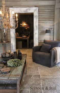 rural living - Home Decoration Deco Champetre, Salons Cosy, Interior Decorating, Interior Design, Decorating Ideas, Home And Deco, Home Design, Design Ideas, Floor Design