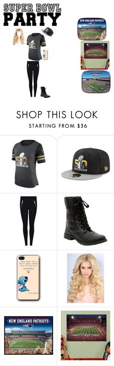 """Going to the game looking fly"" by pinklovebooks ❤ liked on Polyvore featuring NIKE, MICHAEL Michael Kors, Fathead, fly and SuperBowlParty"