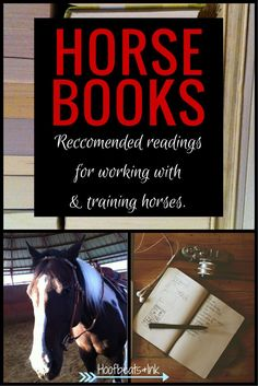 Do you need to train your horse, but don't have the budget to hire a trainer? Developing your knowledge of horse training can be a great way to get started. Here are a few book (and video) recommendations to add to your reading list. Horse Books via Hoofbeats and Ink.