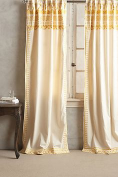 If you are looking for gray and yellow dining room curtains you've come to the right place. We have 18 images about gray and yellow dining room curtains Dining Room Curtains, Home Curtains, Yellow Curtains, Colorful Curtains, Window Panels, Window Coverings, Window Treatments, Yellow Dining Room, Curtain Designs
