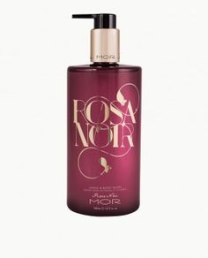 Mor Rosa Noir Hand and Body Milk 500ml pump