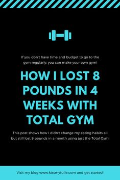 Alaskan lifestyle blogger, Cris Stone, shares how she lost 8 pounds in 4 weeks with Total Gym. Find out more! Total Gym Xls, 8 Minute Workout, Total Gym Workouts, Quick Abs, Vanilla Protein Shakes, True To Form, Workout Dvds, Gym Routine, First Pregnancy