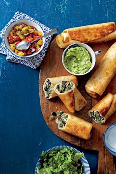 Cinco de Mayo Recipes: Chicken-and-Black Bean Chimichangas