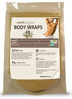 DIY Slimming Body Wrap: SPA Formula for Home Use: Seaweed...https://www.amazon.com/gp/product/B01B6OGV7O/ref=as_li_qf_sp_asin_il_tl?ie=UTF8&tag=divinetreas03-20&camp=1789&creative=9325&linkCode=as2&creativeASIN=B01B6OGV7O&linkId=17c8399801d99b58adc5671d7730b7df may contain affiliate links