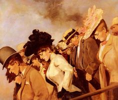 At the Races - Franz Dvorak.