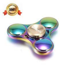 Juguete Aleación de aluminio de Spinner Teniendo Alta Velocidad Aliviar el Estrés, Ansiedad
