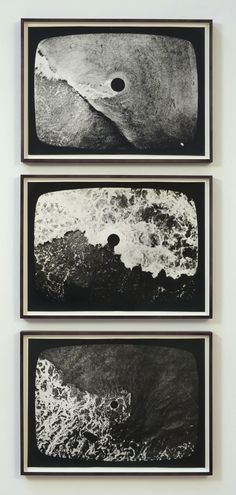 Hole in the Sea (Triptych) - Barry Flanagan