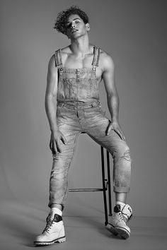 Eyal Booker by Andrew James Lamb #overalls