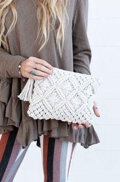 Cute Crochet, Crochet Crafts, Crochet Yarn, Diy Crochet Projects, Crochet Bag Tutorials, Crochet Braid, Crochet Instructions, Hand Crochet, Crochet Ideas