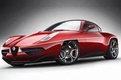 Alfa Romeo Disco Volante Concept 2012
