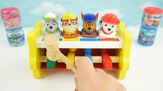 Best Learning Video for Kids Paw Patrol Peg Pounding Toys Mashems Fashems Learn Colors & Counting. This color peg playset is one of the best toys for preschoolers to learn colors counting and find motor skills. Later they can be rewarded with Mashems or Fashems from Paw Patrol and Finding Dory.   Subscribe here to never miss a video: https://www.youtube.com/channel/UCsRW8ikkc-uISUXtNKBfFcw?sub_confirmation=1  - Watch my last video: https://youtu.be/fSmvN38u--Q  More of my videos in…