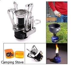 Camping Stove - impressive variety. Have to take a look...