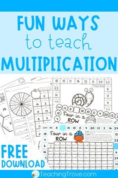 Teaching multiplication to your 3rd grade students should be fun. Use anchor charts and flip books to introduce each multiplication strategy and then hands-on games, activities and printables to…