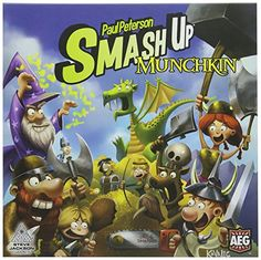 Smash Up Munchkin Card Game -- You can find more details by visiting the image link. (Note:Amazon affiliate link)