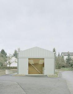 Hangar XS / Ecker Architekten_Buchen, Germany_2014.