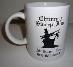 Chimney Sweep Inn Solvang California Coffee Mug