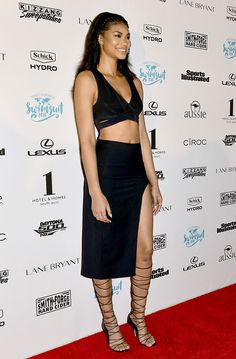 Chanel Iman at Sports Illustrated Swimsuit 2016 Swim BBQ VIP at One Hotel in Miami, Florida on February 17, 2016