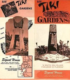 see Tiki Gardens Vintage Tiki, Vintage Florida, Tiki Hut, Tiki Tiki, Tiki Hawaii, Vintage Cocktails, Indian Rocks Beach, Disney Enchanted, Tiki Bar Decor