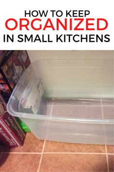 If your kitchen is small, check out this easy and cheap storage solution for your bakeware. This kitchen organization hack is so simple and will help make your life easier. #diy #kitchenstorage #kitchenhack Kitchen Organisation Hacks, Kitchen Hacks, Kitchen Organization, Organization Station, Organization Ideas, Kitchen Ideas, How To Keep Organized, Storage Solutions, Storage Ideas