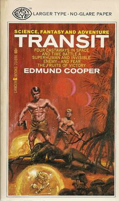 Author: Edmund Cooper Publisher: Lancer 73-690 Year: 1967 Print: 1 Cover Price: $0.6 Condition: Very Good Plus Genre: Science Fiction