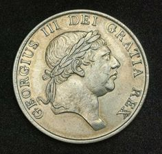 British Silver 3 Schilling (Bank Token Coinage), King George III, 1812. Obverse: Head of George III of Great Britain right. Legend: GEORGIUS III DEI GRATIA REX Gold And Silver Coins, Silver Bars, Pound Sterling, Fiat Money, King George, Britain, Paper, World, Abundance