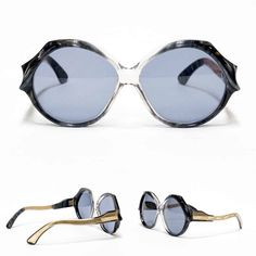 Jacques Fath vintage sunglasses - model: Esterel/7 in NOS condition.