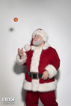 Doctor Who TV Series 8 Story 253 Last Christmas Special Christmas 2014 Doctor Who Series 8, All Doctor Who, Doctor Who Christmas, Last Christmas, Christmas Mood, Chris Addison, Sheila Reid, Jemma Redgrave, Jelly Babies