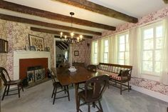 Formal Dining Room   1740 Dutch Colonial  Murray Hill, New Jersey