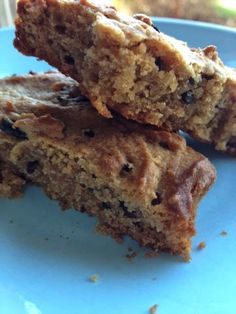 In Happiness and in Health: Peanut Butter Chocolate Chip Blondies