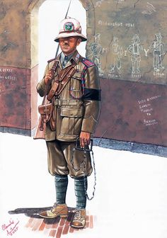 Regio Esercito - Maresciallo Ordinario dei Carabinieri, Tobruk, 1941